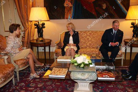 Maria Alves da Silva, Camilla Duchess of Cornwall and Prince Charles