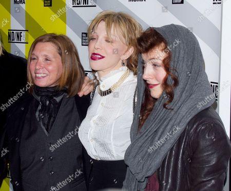 Patty Schemel, Courtney Love and Melissa auf der Maur
