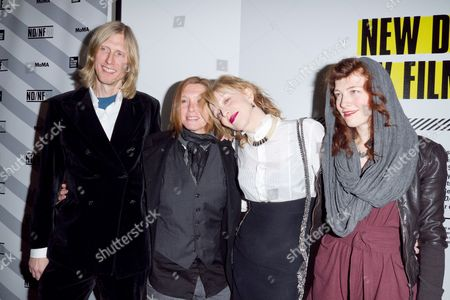 Eric Erlandson, Patty Schemel, Courtney Love, Melissa auf der Maur