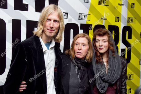 Stock Photo of Eric Erlandson, Patty Schemel, Melissa auf der Maur