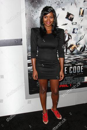 Editorial image of 'Source Code' Film Premiere, Los Angeles, America - 28 Mar 2011