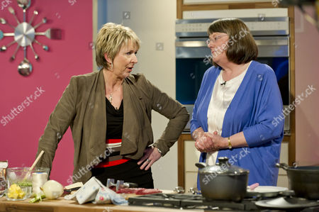 Stock Picture of Fern Britton with Carol Stinton