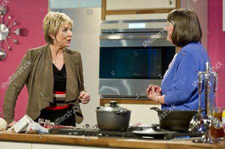 Stock Image of Fern Britton with Carol Stinton