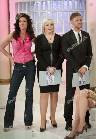 Stock Picture of Janice Dickinson, Jayne Lewis-Orr and Jamie Stevens