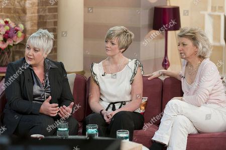 Natalie Drew, Ashling Phillips and Broadcaster Ann Atkins