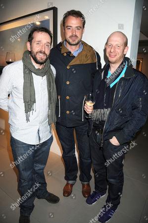 Ben Miller, Jamie Theakston and Steve Furst