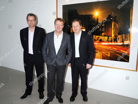 Stock Picture of Charlie Phillips, Harry Cory Wright and Charles Dunstone