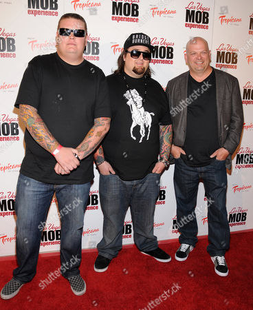 Corey Harrison and Austin Russell and Rick Harrison