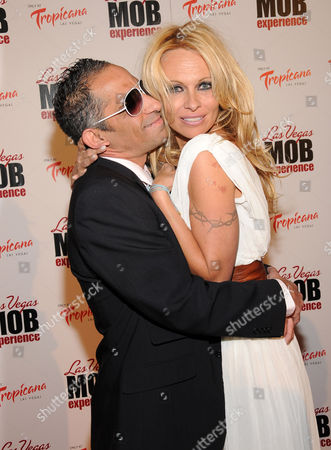 Stock Picture of Marcus Suarez and Pamela Anderson