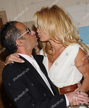 Stock Image of Marcus Suarez and Pamela Anderson