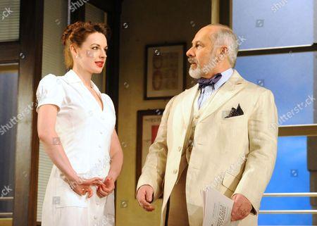 Jessica Raine (Cleo) Nicholas Woodeson (Mr Prince)