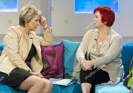 Stock Picture of Fern Britton and Anne Marie West