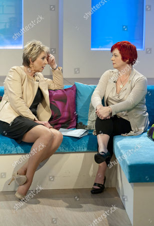 Stock Photo of Fern Britton and Anne Marie West