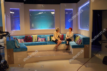 Stock Image of Fern Britton and Anne Marie West