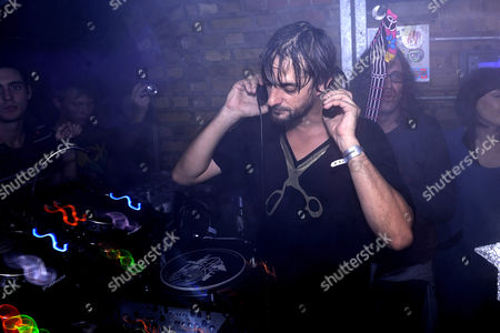 Stock Picture of Ricardo Villalobos playing at the Fabric birthday party, London, Britain