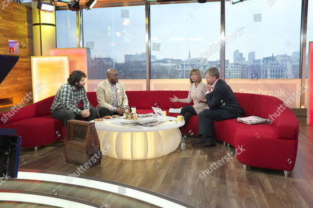 Stock Picture of Barnaby Shaw and Ainsley Harriott with Adrian Chiles and Kate Garraway