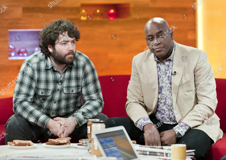 Barnaby Shaw and Ainsley Harriott