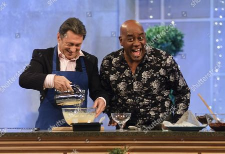 Stock Image of Alan Titchmarsh and Ainsley Harriot