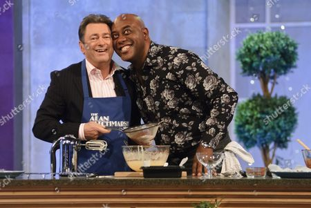 Stock Picture of Alan Titchmarsh and Ainsley Harriot