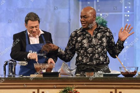 Alan Titchmarsh and Ainsley Harriot