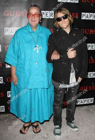 Kim Hastreiter and Peter Davis