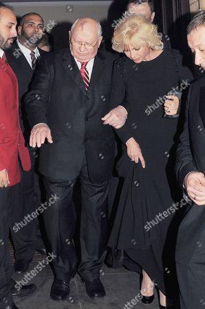 Mikhail Gorbachev and daughter Irina Virganskaya