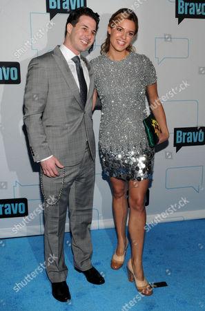 Stock Picture of Johnny Iuzzini and Dannielle Kyrillos