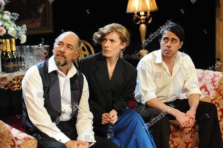 Richard Schiff (Bebe), Natalie Walter (Liz), Josh Cohen (Mike)
