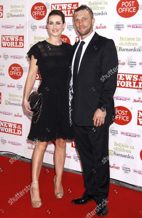 Stock Image of Kirsty Gallacher and Paul Sampson