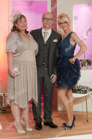 Stock Picture of Mark and Jayne with Claire Devereux