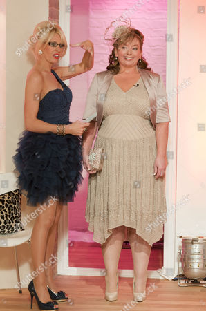 Claire Devereux with Jayne