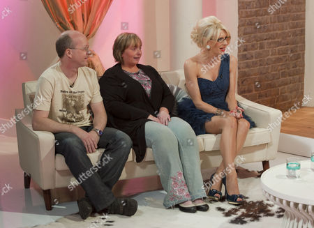 Mark and Jayne with Claire Devereux