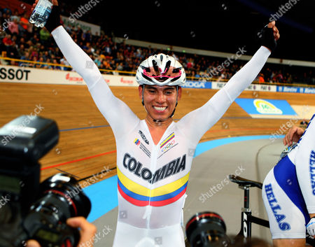 Editorial photo of UCI Track Cycling Championships, Apeldoorn, Holland - 25 Mar 2011