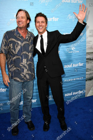 Stock Image of Kevin Sorbo and Ross Thomas