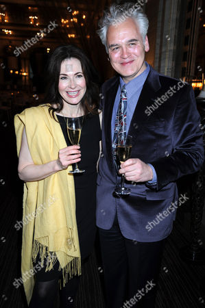 Editorial image of Kevin Spacey hosts private dinner for The Old Vic, The Criterion Restaurant, London - 31 March 2011