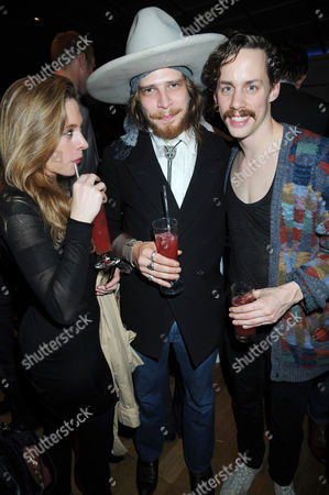 Stock Picture of Guest, Freddie Stitz and Johnny Borrell