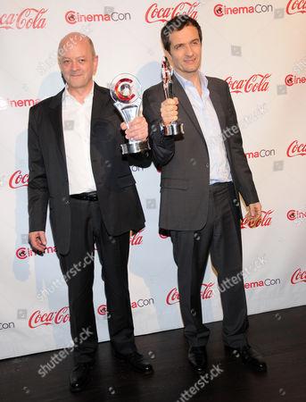 David Heyman and David Baron - Harry Potter Hall of Fame Franchise