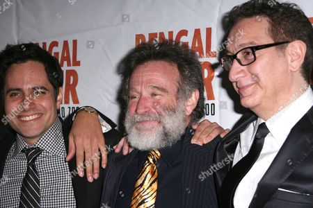 Rajiv Joseph, Robin Williams, Moises Kaufman