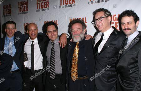 Brad Fleischer, Glen Davis, Rajiv Joseph, Robin Williams, Moise