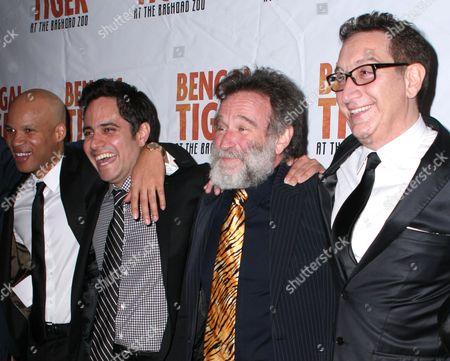 Glen Davis, Rajiv Joseph, Robin Williams, Moises Kaufman
