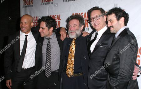 Glen Davis, Rajiv Joseph, Robin Williams, Moises Kaufman, Arian