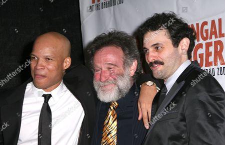 Glen Davis, Robin Williams, Arian Moayed