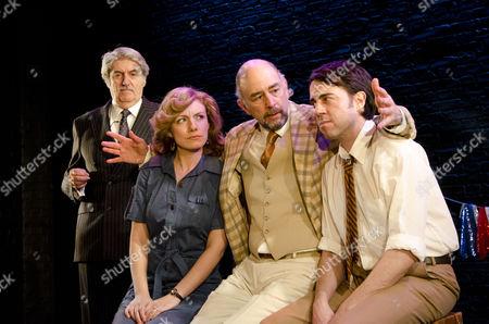 Tom Conti (Theo), Natalie Walter (Liz), Richard Schiff (Bebe), Josh Cohen (Mike)