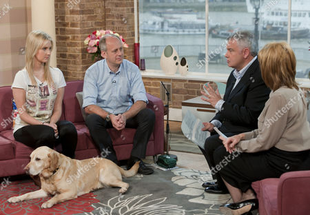 Stock Photo of Keith Sleightholm with Eamonn Holmes and Ruth Langsford