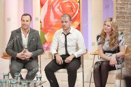 Stock Picture of Jason Gardiner, Leo Bancroft and Nathalie Eleni Bouziotas