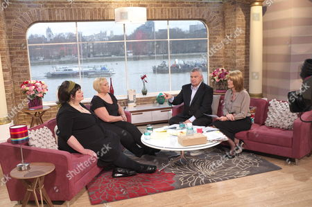 Marsha Coupe and Louise Hayes with Presenters Eamonn Holmes and Ruth Langsford