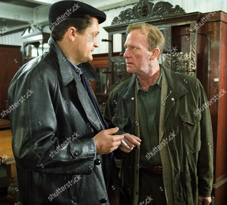 Alex Giannini and Dennis Waterman