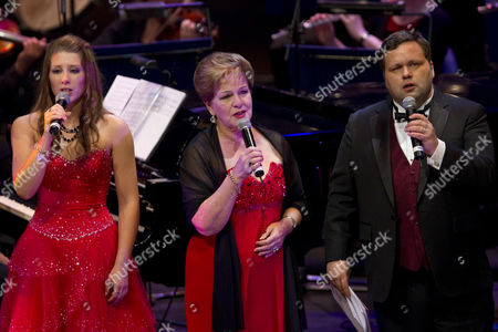 Editorial image of 'To Christchurch With Love' Fundraising Concert with Paul Potts, Auckland, New Zealand - 2 April 2011