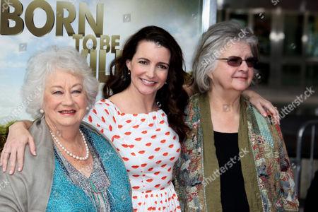 Dame Daphne M. Sheldrick; Kristin Davis  and Dr Birute Mary Galdikas