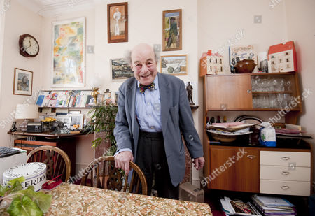 Editorial picture of Professor Heinz Wolff at home in Ealing, London, Britain - 19 Mar 2011